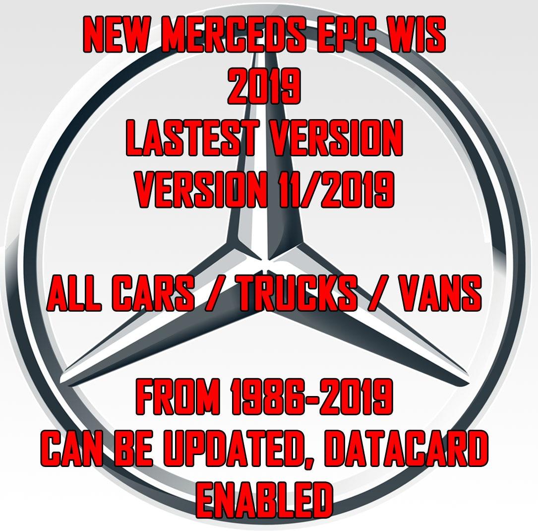 Последняя новинка 2019 г., руководство по ремонту салона Mercedes-SMART WIS ASRA и EPC