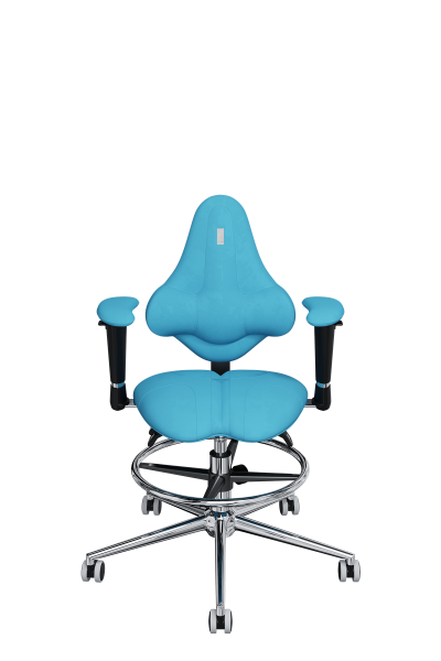Chair Office KULIK SYSTEM KIDS Turquoise For Children And Teenagers Computer Эргономичное 5 Zones Control Spine