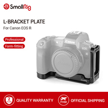 Placa de soporte L SmallRig para cámara Canon EOS R de liberación rápida Arca placa de montaje estándar suizo L placa lateral y placa base 2257