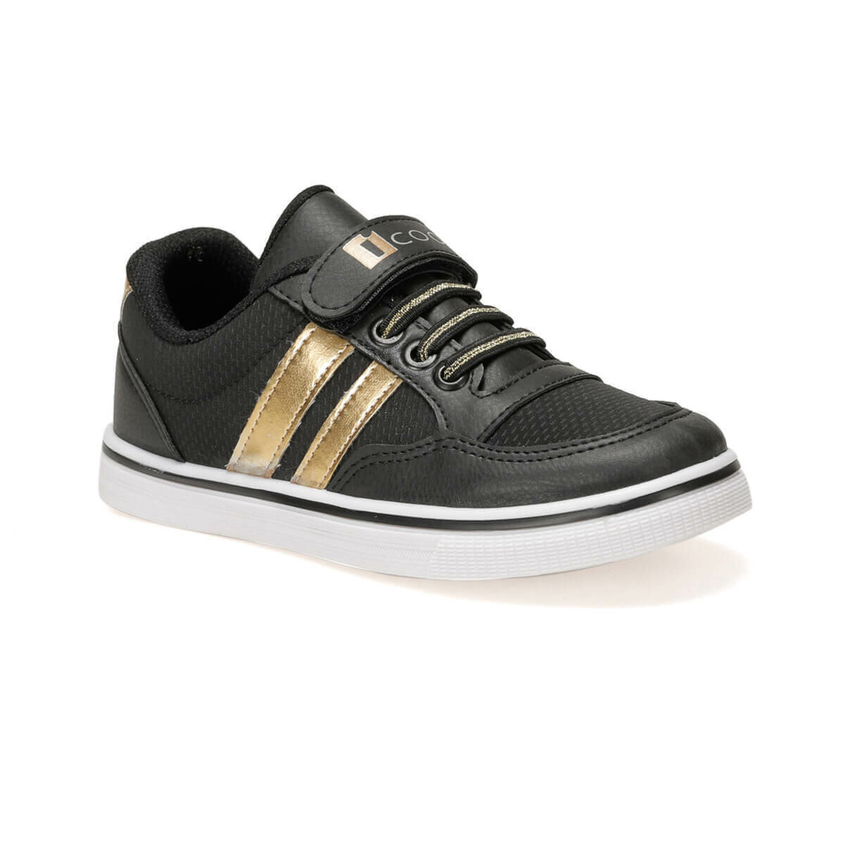 FLO TALU.2 Black Female Child Sneaker Shoes I-Cool