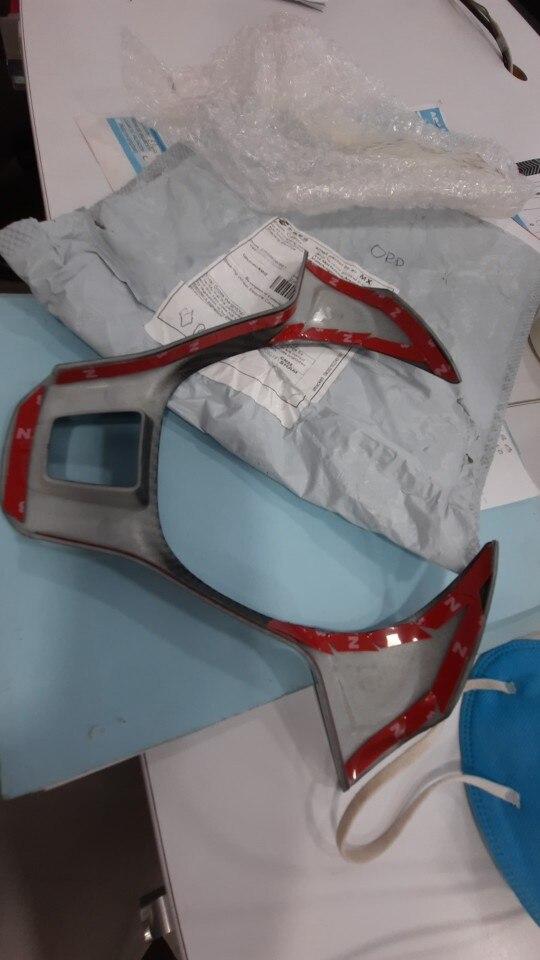 1 x piezas exteriores accesorios de estilo de coche botones de volante cubierta embellecedora Marco de lentejuelas decoración pa