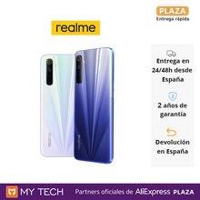 realme 6,Smartphones 64GB/128GB, cámara cuadrúple 64MP, pantalla 90Hz, procesador Helio G90T y carga rápida 30W