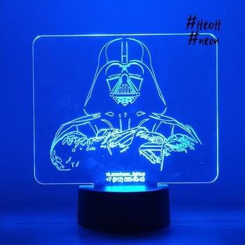 3D lamp Darth Vader 3d lamp darth vader