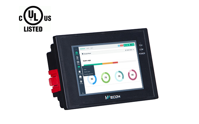 WECON LEVI2043E-U Inch Hmi Built-in Scada Software Without Logo Support Customization