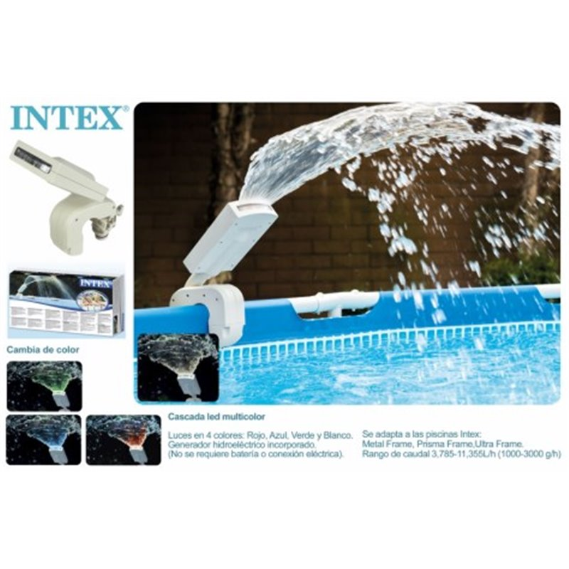 FOUNTAIN POOL LIGHT INTEX LED 28089