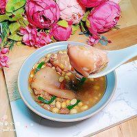 黄豆花生猪蹄汤 #福气年夜菜#的做法图解15