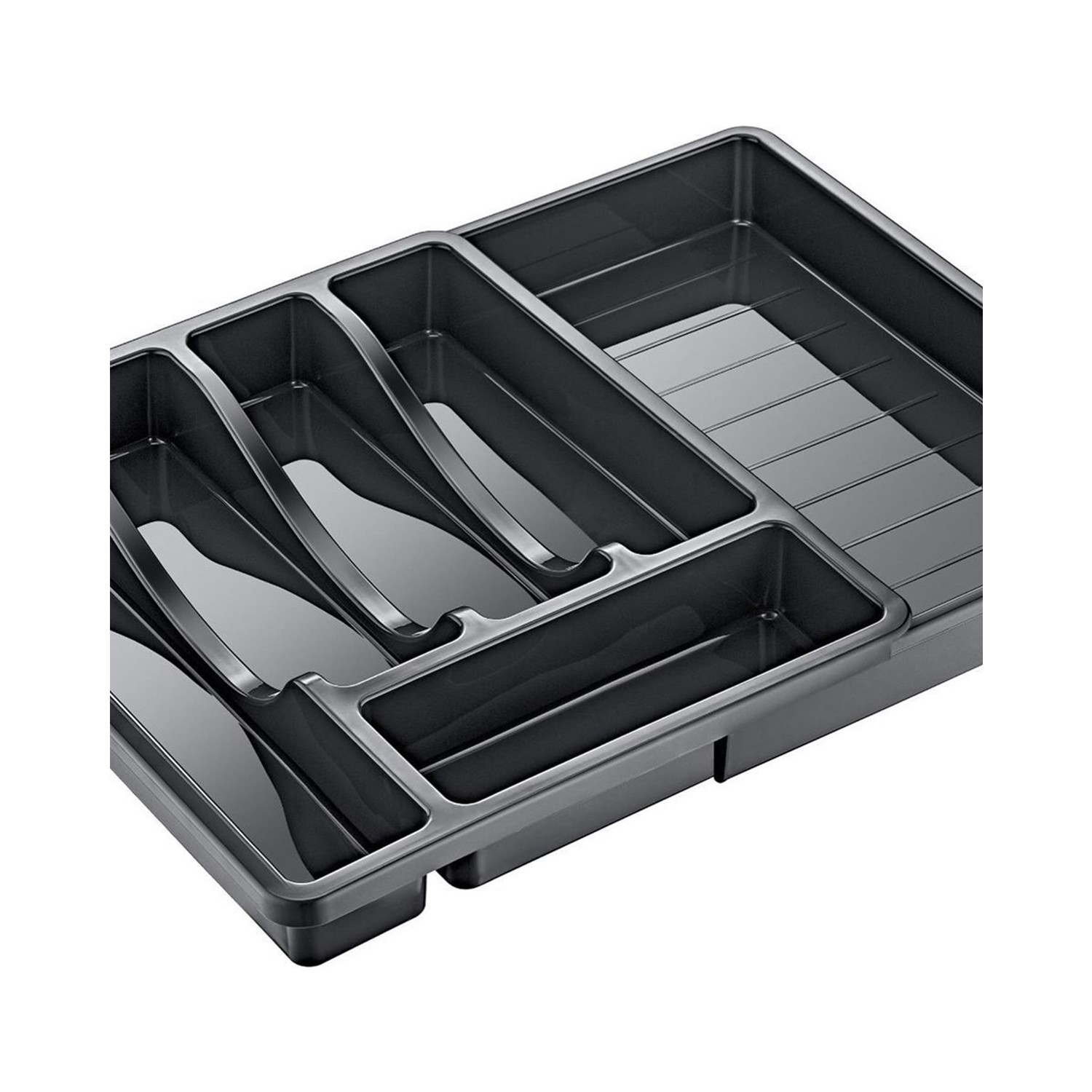 Kitchen drawer organizer Cutlery organizer Drawer insert Kitchenware Compartments tools Tidy Storage Plastic 1st class quality generator ozone vegetable and fruit cleaner ozone machine with duct attachment