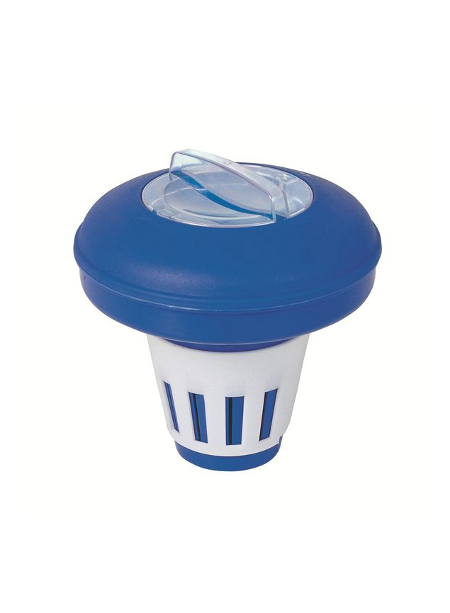 Dispenser Floating Swimming Pool 16,5 Cm, Chemical Water Treatment In The Pool, Bestway, Item No. 58071