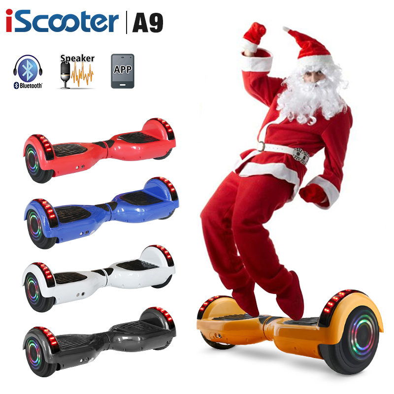 UL2272 Hoverboard Battery Bluetooth Electric Skateboard 6.5 inch Electric Scooter With LED Smart Hover Board|Self Balance Scooters|Sports & Entertainment - title=