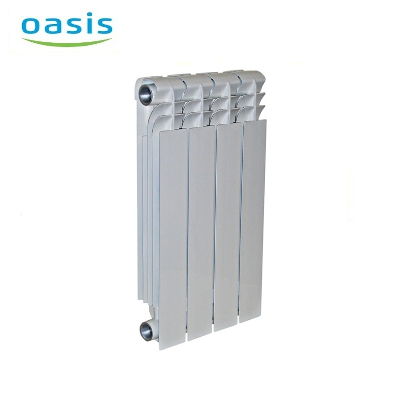 004 Bimetal Radiator Oasis 350/80/4 Electric heater air heater heating elements household radiator home energy saving 220v household electric heater rotatable energy saving head shaking heater fast heating 3 gear control electric heater eu au uk