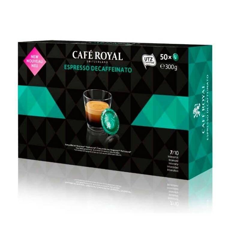 DECAFFEINATED Coffee Royal®For NESPRESSO PRO®50 coffee capsules