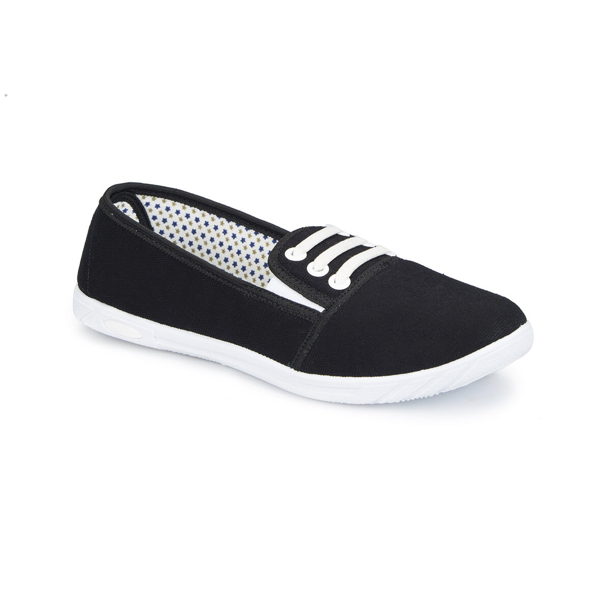 FLO 81. 354987.Z Black Women Slip On Shoes Polaris