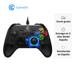 GameSir T4w Wired Controller USB Turbo Function Dual Vibration Joystick Gaming Gamepads for Windows PC