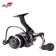 цена на JIUYU Fishing Spinning Reel Saltwater Fishing Reel Carp Fishing Reels 7000 5.2:1 13 BB Rock Fishing Reel Spinning Reels Wheel