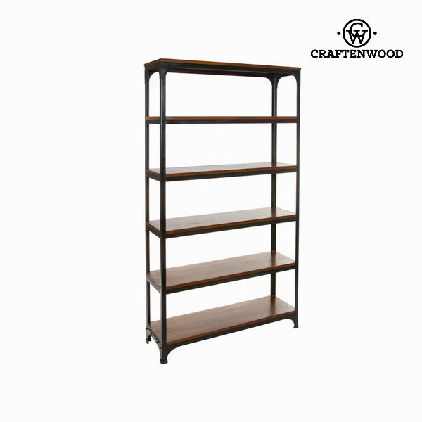 Wood And Metal Shelf - Franklin Collection By Craftenwood