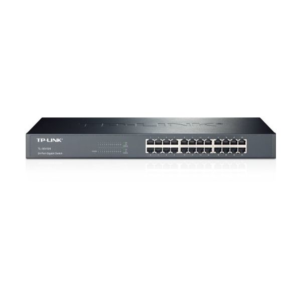"Cabinet Switch TP-LINK TL-SG1024 48P Gigabit 1 U 19"" Metal"