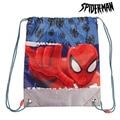 Рюкзак на шнурке с человеком-пауком (31x38 см)