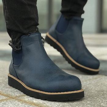 Buty Minea na buty męskie męskie buty zimowe moda śniegowe buty Plus rozmiar zimowe trampki kostki męskie buty zimowe buty obuwie męskie podstawowe buty buty męskie 2020 buty zimowe dla mężczyzn Hombre Chekich CH045 tanie i dobre opinie TR (pochodzenie) Sztuczna skóra Gumką Pasuje prawda na wymiar weź swój normalny rozmiar Buty łodzi Mieszane kolory