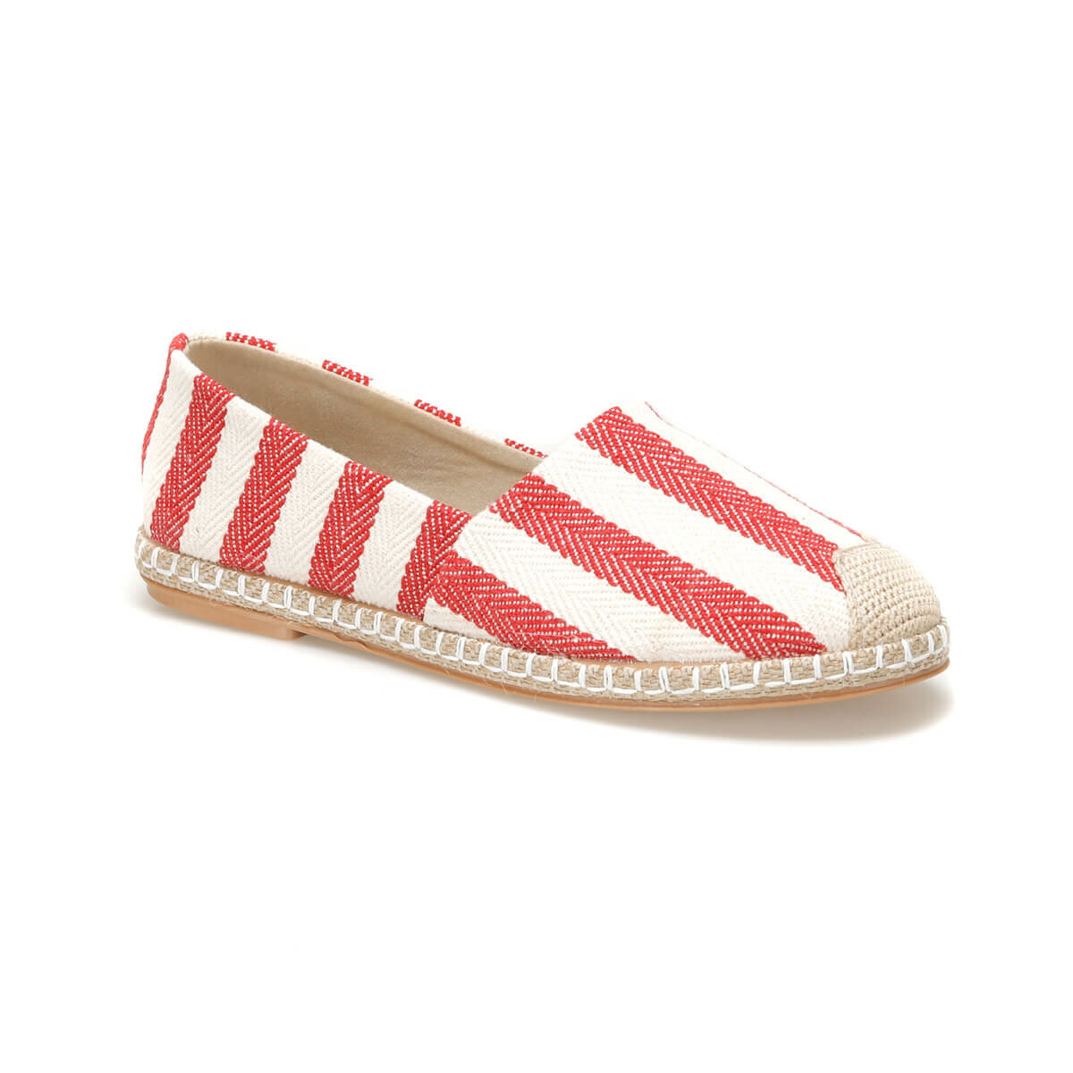 FLO STRAW33Z Red Women Espadril Shoes BUTIGO
