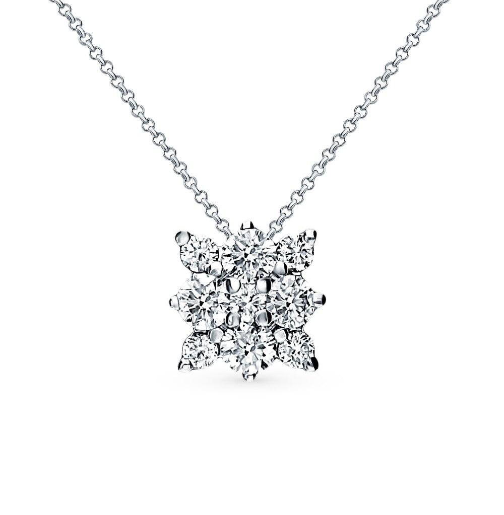"Gold Pendant ""diamonds Of Yakutia"" Sunlight Sample 585"