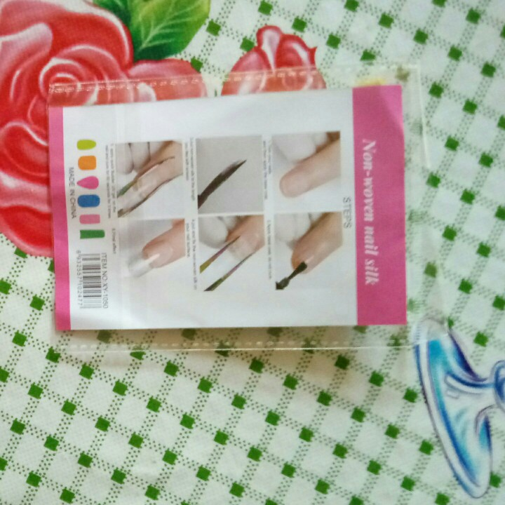 Non-Woven Nail Silk (10Pcs/Pack) photo review
