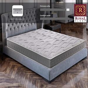 Королевский керамический матрас для сна с матрасом Visco Carbono de 25 см, удобные и прочные кровати, матрасы для спальни, кровать для браков и индив...