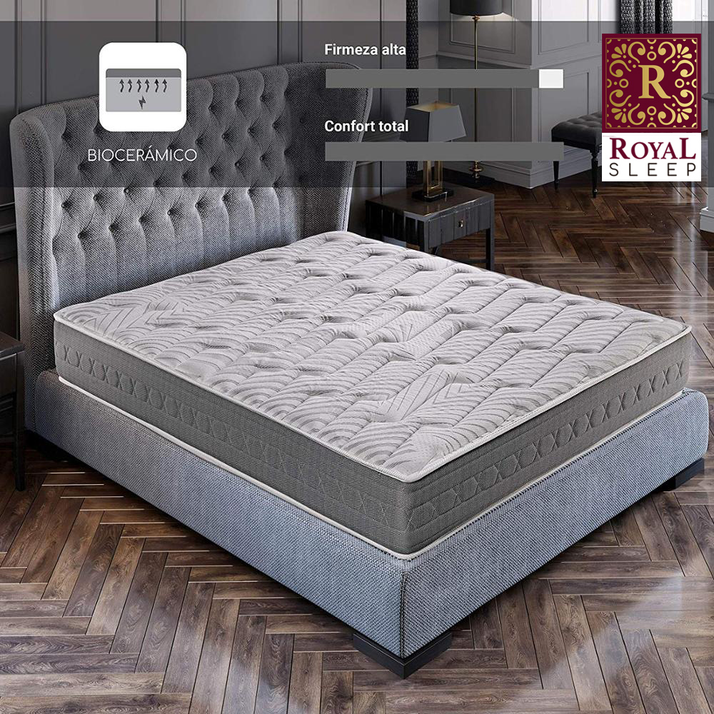 Royal Sleep Ceramic Plus Mattress Visco Carbono De 25cm Comfort And Firmness Beds Mattresses Bedroom Bed Marriage And Individual