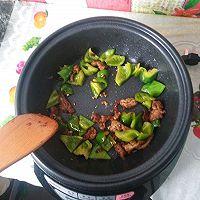 超级好吃的过油肉炒腐竹的做法图解4