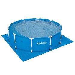 BESTWAY Подложка для бассейнов, полиэтилен, 396х396см