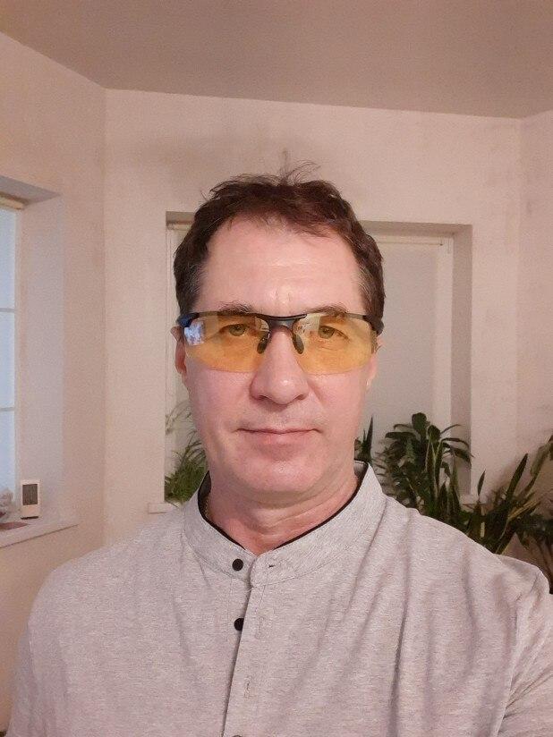 -- Anti-reflexo Amarelo Moldura