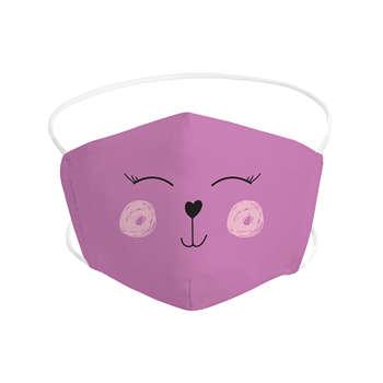 Mascarilla de osa infantil de tela lavable + 1 filtro GRATIS
