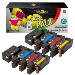 8 sztuk 6000 6010 kompatybilny Xerox kaseta z tonerem do drukarki phaser 6010 6000 Workcentre 6015 6015V 106R01630 106R01634