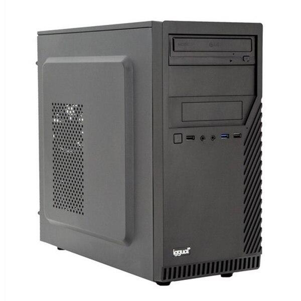 Desktop PC Iggual PSIPCH433 I7-9700 16 GB RAM 480 GB SSD W10 Black