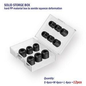 Image 4 - TENNMAK auriculares Ultra fuertes con espuma de memoria, 12 uds., almohadillas para las orejas, para boquilla de 4,5 6,0mm