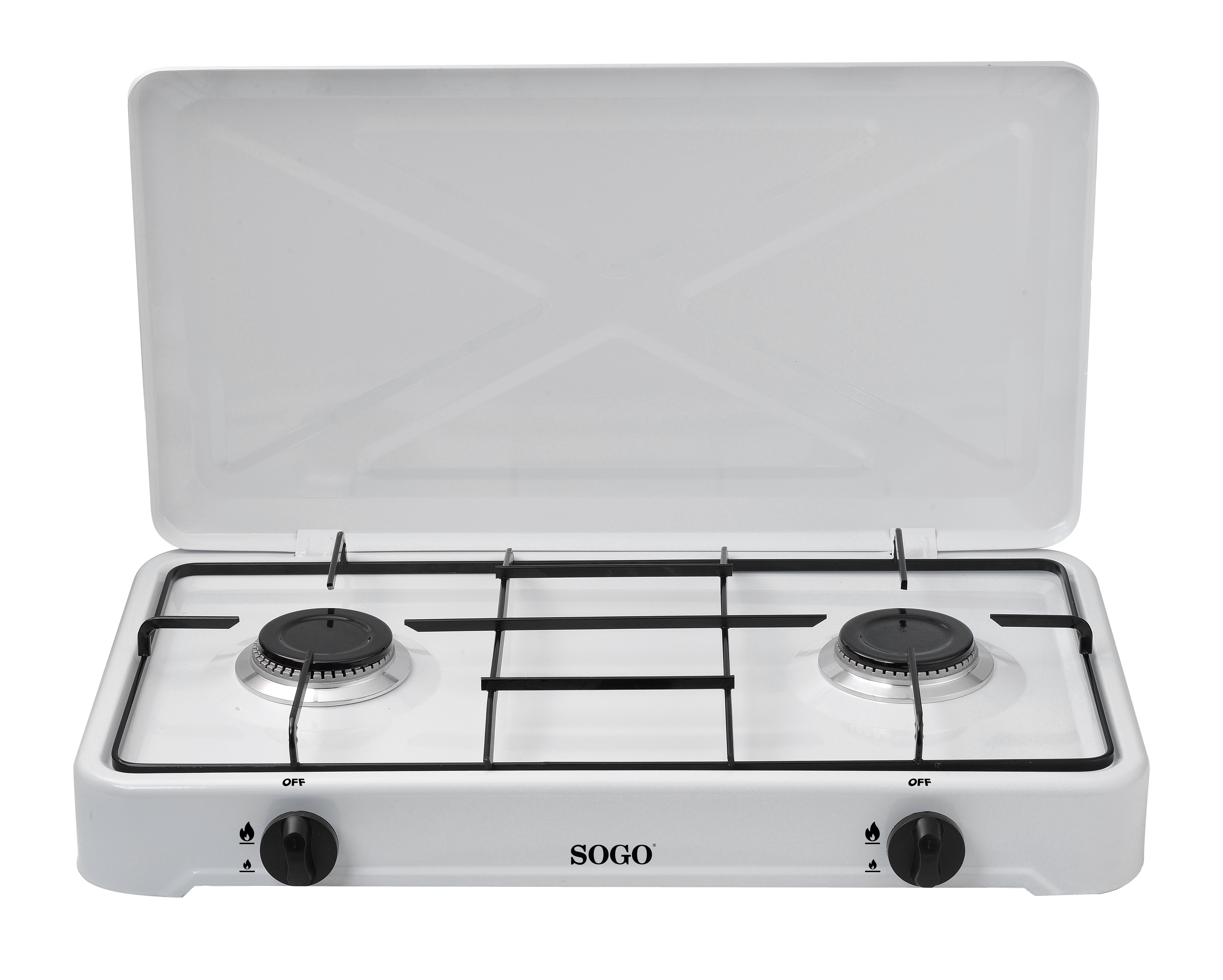 KITCHEN 2 GAS STOVE-DIA 18.5CM