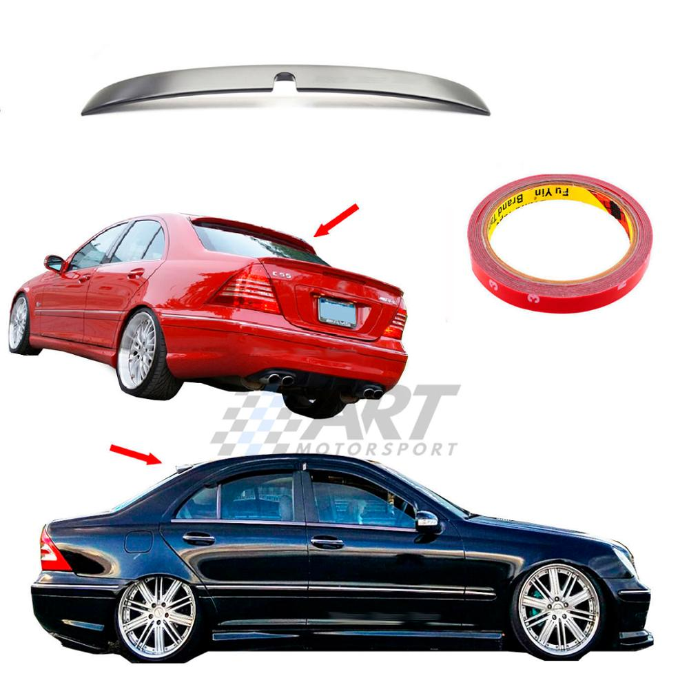 Ceiling <font><b>spoiler</b></font> for Mercedes C Class <font><b>W203</b></font> <font><b>spoiler</b></font> made from Abs plastic image