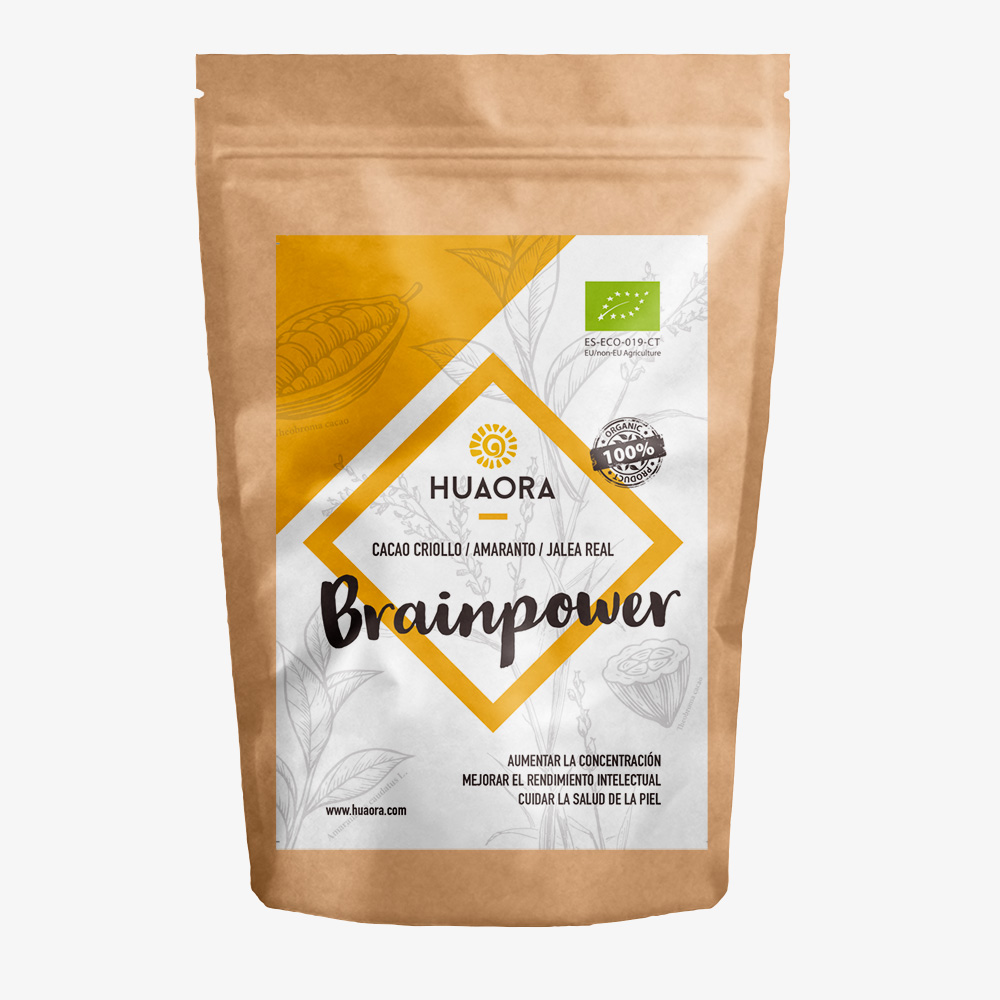 Huaora Brainpower Superfoods rich in vegetable proteins and minerals to improve cerebral oxygenation, boost energy and vitality image