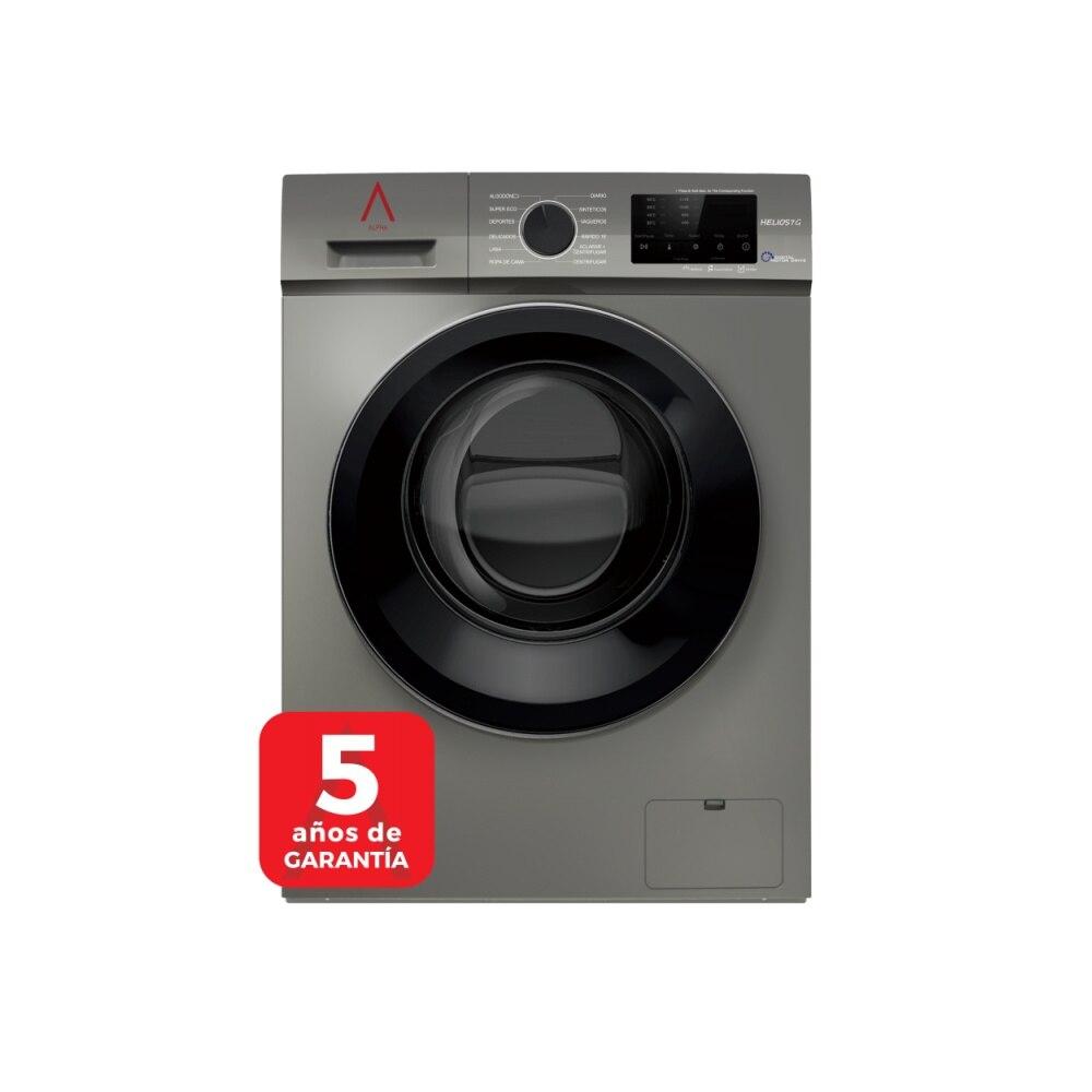 ALPHA Washing Machine HELIOS7G, Gray, 7KG, 1.200RPM, Door XXL, Digital Engine Drive, TO +++, * * High-End **