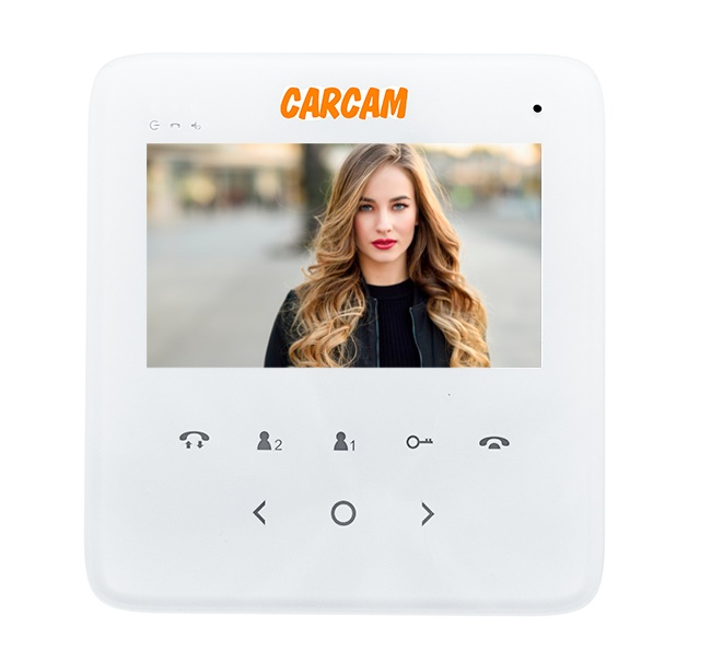 Video Intercom CARCAM DW-615 With 2 Locks