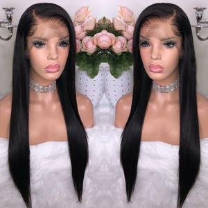 Beaudiva Wig Hair-Wigs Lace-Frontal 360 Straight Peruvian with Baby-Hair for Black-Women