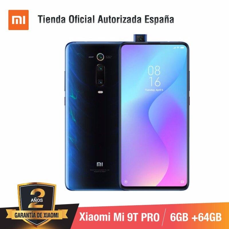 Version mondiale pour l'espagne] Xiao mi mi 9T PRO (memia interna de 64 GB, RAM de 6 GB, Triple cámara de 48 MP con IA) smartphone