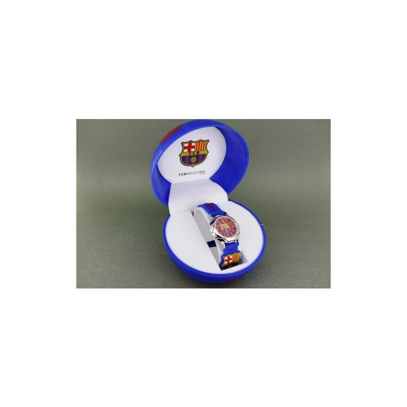 Wrist Watch FC Barcelona Children Blue Shield