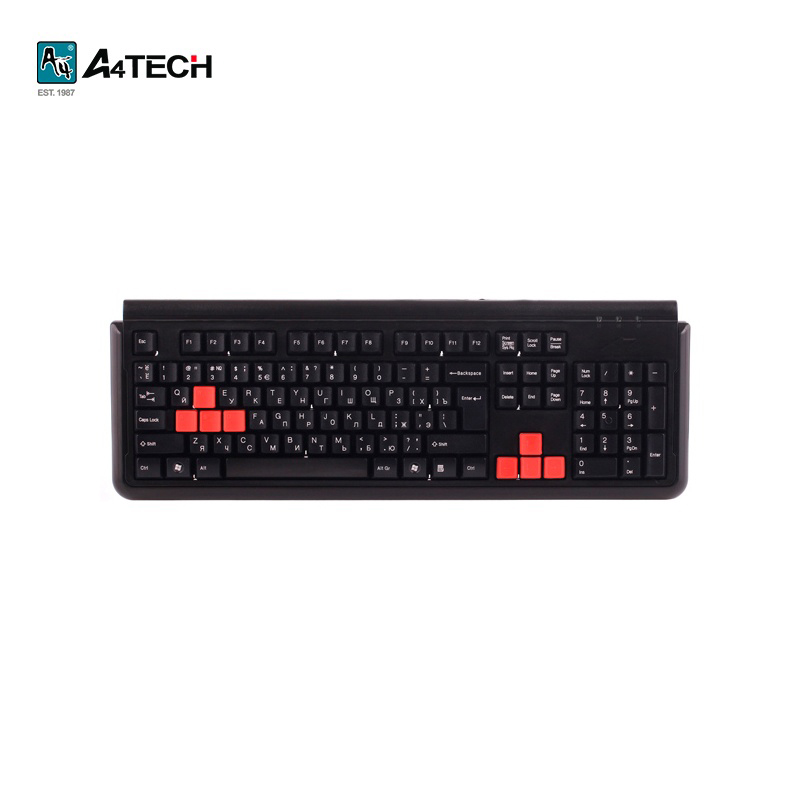 Keyboard A4Tech X7-G300 Black Officeacc Gaming