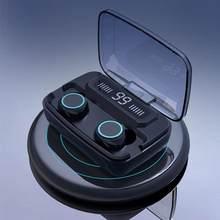 M11 tws bluetooth5.0 tws fones de ouvido sem fio fone alta fidelidade ipx7 à prova dwaterproof água controle toque