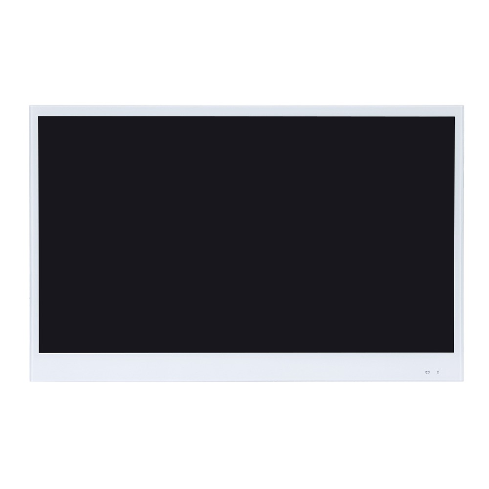Ua9d2e21d698c42dc8141afbed883346eI Souria 22 inches White Finish Bathroom Luxury Smart LED TV Interior Water Proof Television Kitchen Appliance YouTube Available