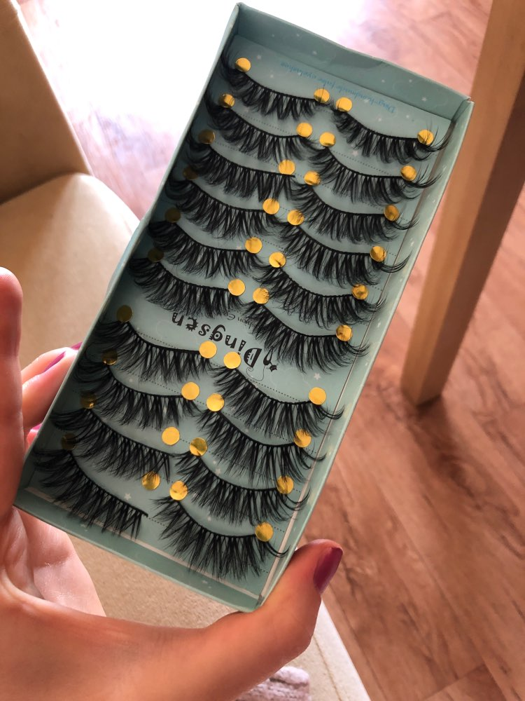 3D Natural Soft Mink Eyelashes 10 pairs/Set