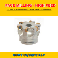 TK SDMT 09 004 KLP FACE MILLING - HIGH FEED BMR 50X4 022 SDMT 09T312