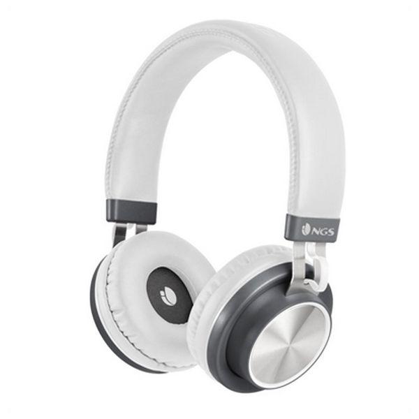 Bilgisayar ve Ofis'ten Telefon Kulaklığı'de Bluetooth kulaklık mikrofon ile NGS ARTICAPATROLWHITE beyaz title=
