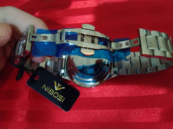 Montre luxe sport NIBOSI Chronomètre étanche