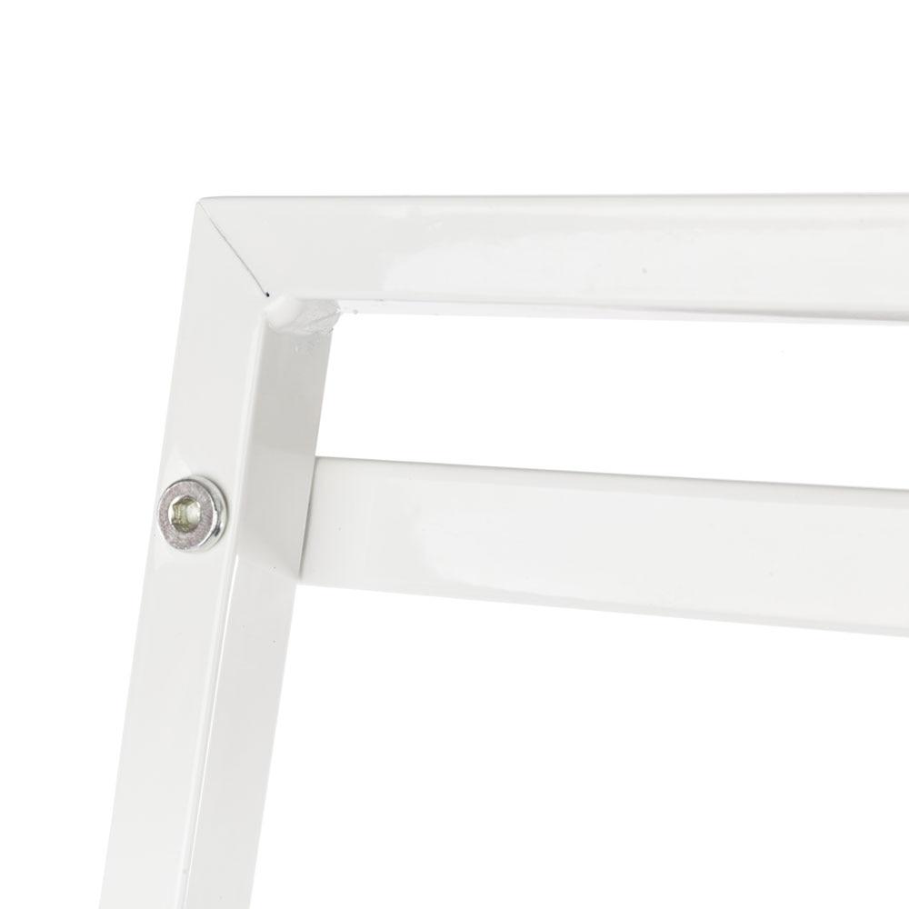 【US Warehouse】Widen 4 Tiers Bookshelf Ivory White
